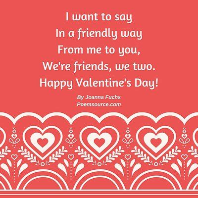 Kid Valentine Poems: Cute Little Rhymes For Children's ...