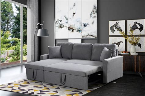 Free Sofas by Husky 174 Reversible Sectional Sofa Bed Free Shipping In Canada