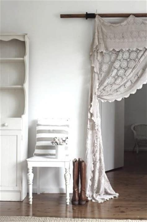 17 best ideas about white lace curtains on