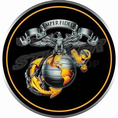 Marine Corps Marines Emblem Usmc Decal Transparent