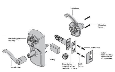 diagram  door knob parts automotive parts diagram images