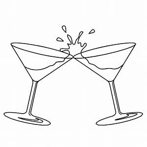 Drink Black And White Clipart - Clipart Suggest