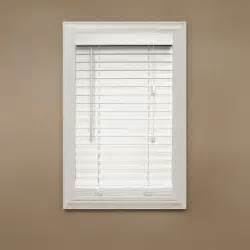 home decorators collection white 2 in faux wood blind 42