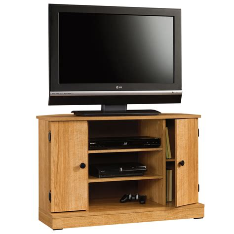 cabinet with tv rack beginnings corner tv stand 412996 sauder