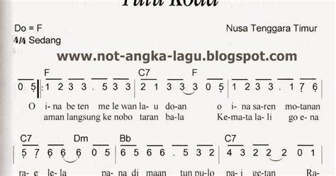 not angka pianika apuse not angka tutu koda kumpulan not angka lagu