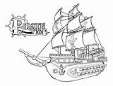 Hook Captain Coloring Pages Pirate sketch template