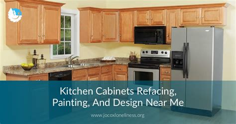 kitchen cabinets refacing painting design