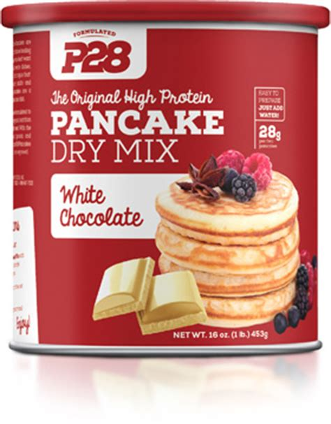 High Protein Pancake Dry Mix by P28 High Protein Bread at