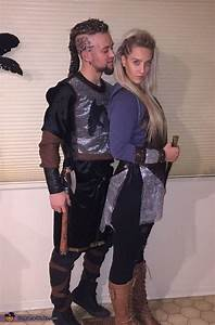 Vikings Ragnar and Lagertha - Halloween Costume Contest at ...