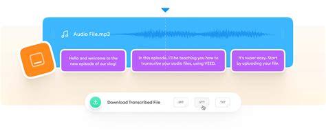 Audio to Text - Auto Transcribe Audio Files Online - VEED.IO