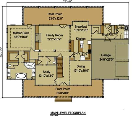 country farmhouse floor plans large country home floor plan high country farmhouse