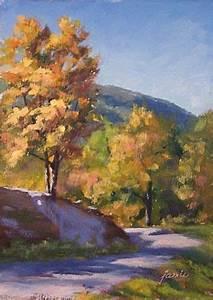 Autumn Below South Mountain Catskill Mountains oil ...