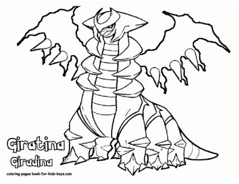 Giratina Coloring Pages - Costumepartyrun
