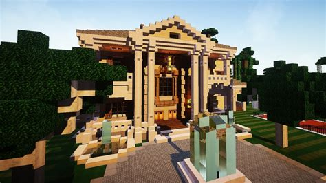 Minecraft Luxury Yacht And Mansion Youtube