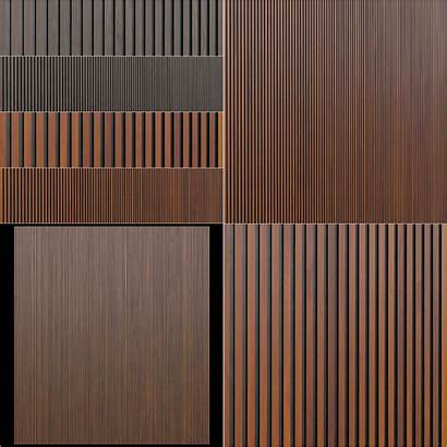 Panels Wooden Parallelo Leto Models Interior Cgtrader