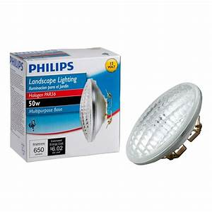Philips watt volt halogen par landscape lighting
