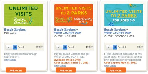 Busch Gardens Platinum Pass by Busch Gardens Card Vs Annual Pass Fasci Garden