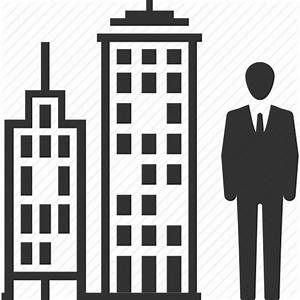 Businessman, man, office building icon | Icon search engine