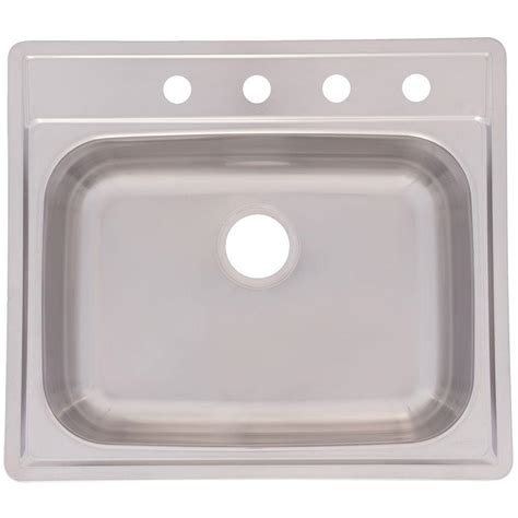 franke sink home depot franke drop in stainless steel 25x22x8 4 single basin