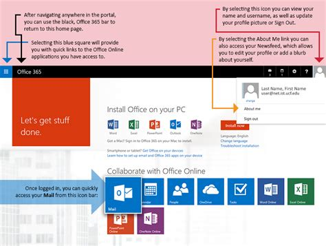 Office 365 Portal Email by Ist Help Desk Gt Info Guides Gt Ist Email And Office 365