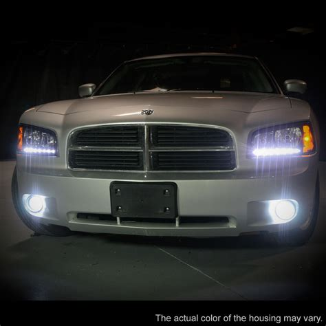 2006 10 dodge charger smd led drl 1pc headlights w corner