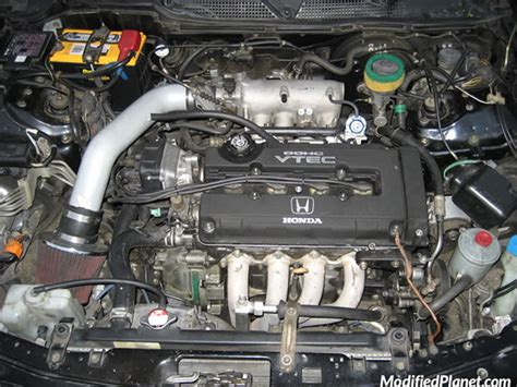 1998 Acura Cl Engine Bay Diagram by 1998 Acura Integra With Aem Ram Air Intake System
