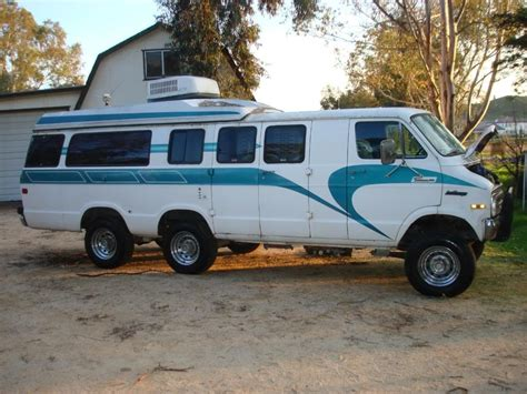 Wild Dodge Conversion Van