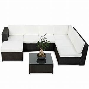 Polyrattan Gartenmoebel Set Guenstig : rattan lounge set schwarz ~ Bigdaddyawards.com Haus und Dekorationen