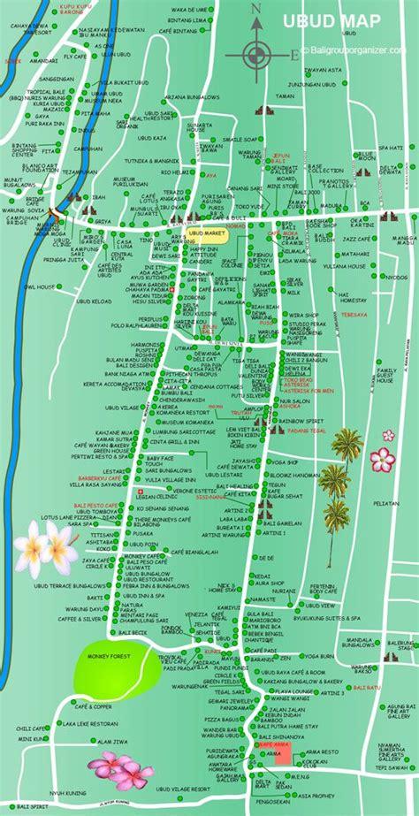 ubud map bali travel bali pinterest ubud bali