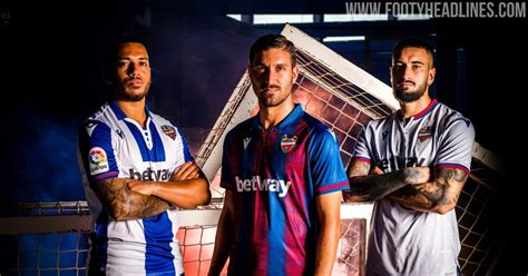 unique levante home kits released footy headlines