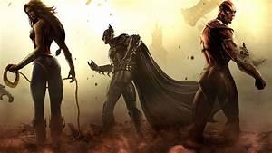 Injustice Video Game Gaming Desktop HD Wallpaper