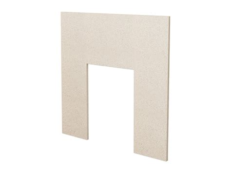 back panel for fireplace fireplace back panel in beige 37 inch fireplace world
