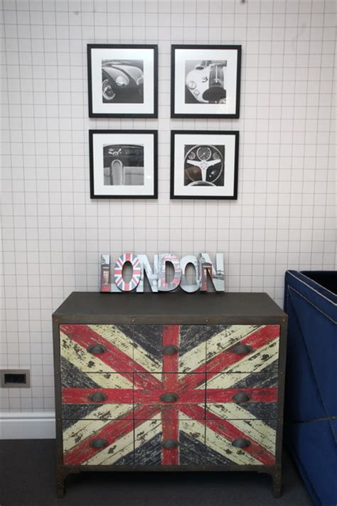 london themed kids room contemporary kids