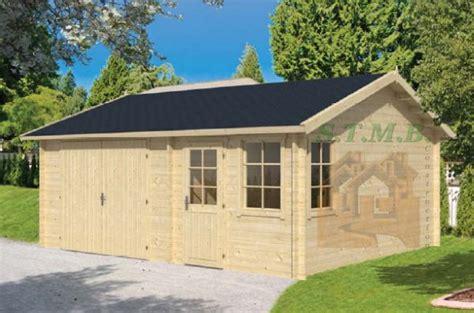 monter un garage en bois chez vous garage pas cher stmb