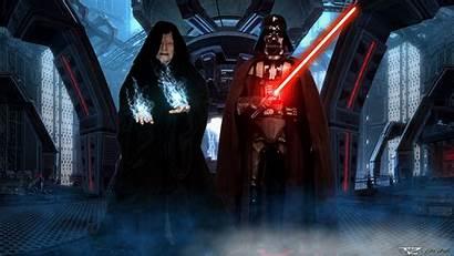 Darth Sidious Vader Palpatine Wars Star Emperor