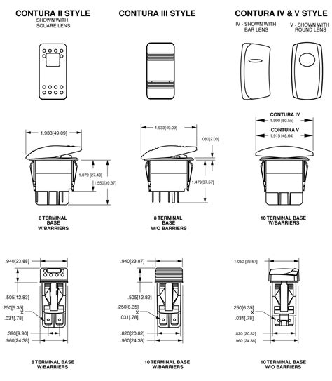 8 Terminal Rocker Switch Wiring Diagram 3 Way by Carling Rocker Switches