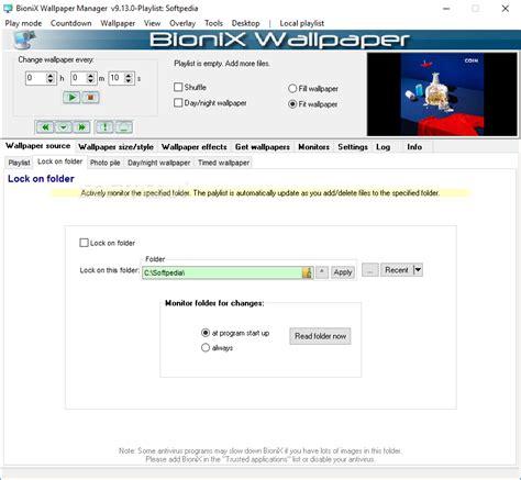 Bionix Desktop Wallpaper Animator - bionix wallpaper changer lite