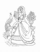 Coloring Princess Printable sketch template