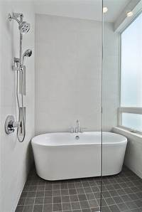 tubs and showers Perfect Small Bathtubs With Shower Inspirations | HomesFeed