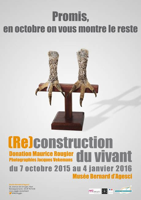 re construction du vivant donation maurice rougier mairie de niort