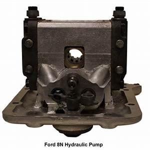 Wiring Diagram  35 Ford 8n Hydraulic Pump Diagram