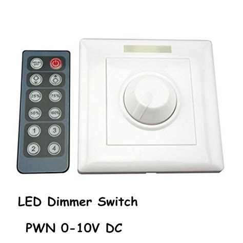 led dimmer infrared 12 key triac dimmer 110v 220v knob
