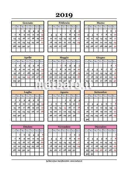 Calendario Kart 2019 Image Result For Calendario 2019 Pdf Printable Tags