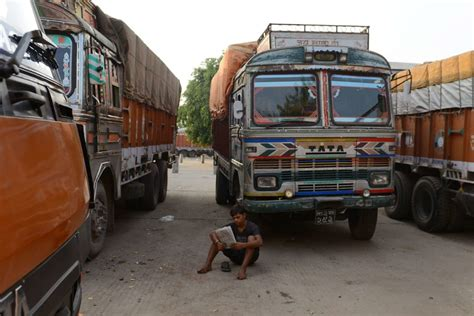 nepal driving head restricts shortage fuel trucks