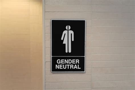 Gender Neutral Bathrooms Debate by This College Student S Gender Neutral Bathroom Selfies