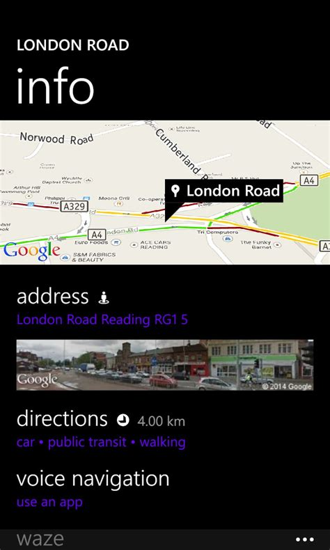 find location of phone number on map maps review all about windows phone