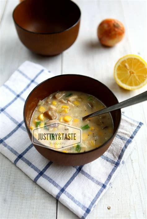 Resep sup asparagus krim ayam. Resep Sup Krim Ayam, Jagung dan Jamur   Sup krim, Resep sup, Resep makanan sehat