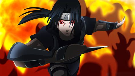 Download Anime Uchiha Itachi Naruto Wallpaper 1920x1080 Full Hd Hdtv Fhd 1080p