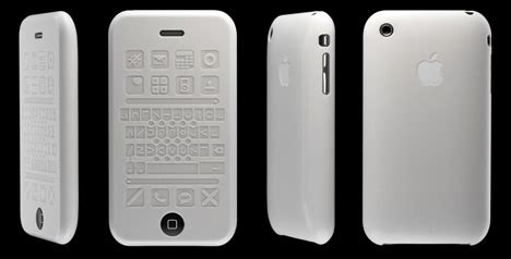 cell phone for blind silicon touch concept to make iphone visually impaired