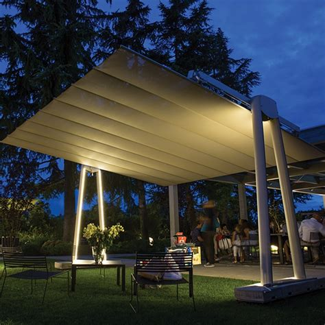 flexy xl giant  standing  retractable awning umbrella